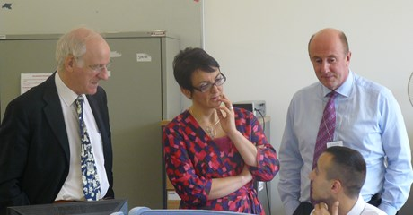 Ministerial Visit (Oct 2012) image
